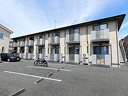 静岡県富士市横割6丁目の賃貸アパートの外観