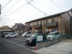 岡山県岡山市南区福島2丁目の賃貸アパートの外観
