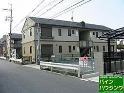 ガーデンタウン清水B棟[103号室]の外観