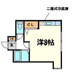 ミキハウス[2階]の間取り