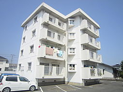茨城県ひたちなか市西大島2丁目の賃貸マンションの外観