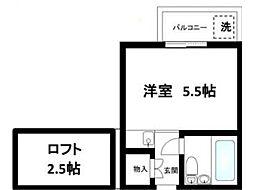 木乃池プラザ荻窪[2階]の間取り