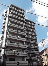 埼玉県草加市金明町の賃貸マンションの外観