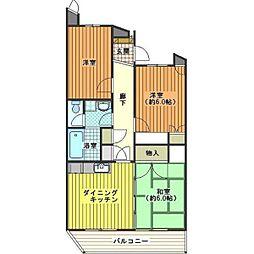 テラス新宿[1階]の間取り