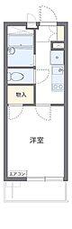 JR中央本線 国分寺駅 徒歩12分の賃貸アパート 2階1Kの間取り