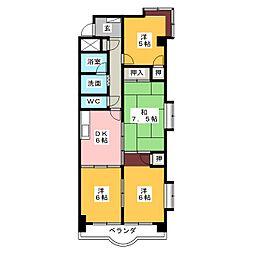コンフォ・トゥール[5階]の間取り