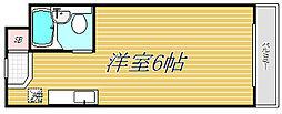モナークマンション桜上水[2階]の間取り