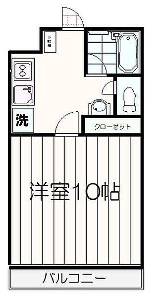 グリューネバルト[2階]の間取り