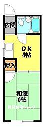 クレインズマンション[2階]の間取り