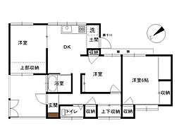 [一戸建] 神奈川県横浜市中区本牧町1丁目 の賃貸【/】の間取り