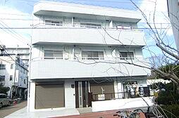 東京都足立区中川4丁目の賃貸アパートの外観