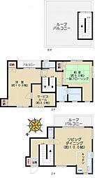 村越家マンション[2階号室]の間取り