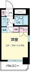 神奈川県川崎市中原区小杉町3の賃貸マンションの間取り