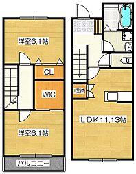 Rui's FAVeLa(ルイズファベーラ)[1階]の間取り