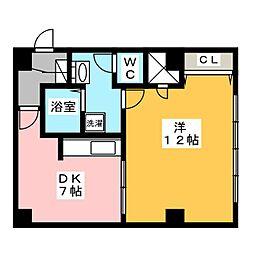 561YAMATEビル[3階]の間取り