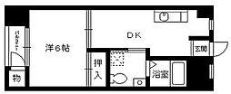昌栄マンション[1階]の間取り