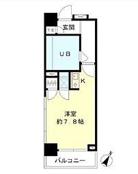 銀座ベラメンテ[4階]の間取り