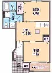 パルク 8[1階]の間取り