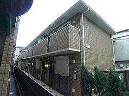 埼玉県越谷市越ケ谷1丁目の賃貸アパートの外観