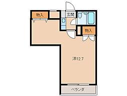 ロイヤルコーポ東高松[1階]の間取り