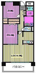 コートアベニュー[2階]の間取り