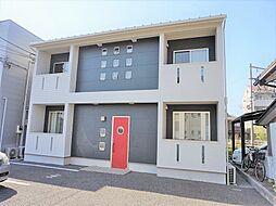 滋賀県近江八幡市西本郷町西の賃貸アパートの外観