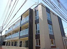 神奈川県鎌倉市岩瀬の賃貸マンションの外観