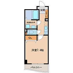 神戸アスタカレッジハイツ[2階]の間取り