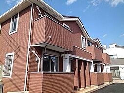 東京都日野市日野本町6丁目の賃貸アパートの外観