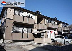 愛知県長久手市富士浦の賃貸アパートの外観