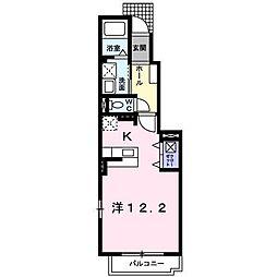 ブライト ネオ ハウス[1階]の間取り