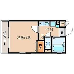 アルカサールヨシタニ弐番館[2階]の間取り