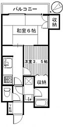 ダイアパレスステーションプラザ前橋II[3階]の間取り