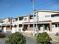 東京都青梅市長淵3丁目の賃貸アパートの外観