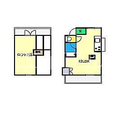 セゾンI(南竹島町)[2階]の間取り