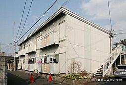 大阪府東大阪市額田町の賃貸アパートの外観