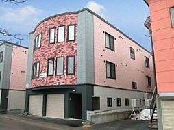 北海道札幌市豊平区月寒東一条10丁目の賃貸アパートの外観