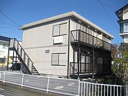 ドミールC[2階]の外観