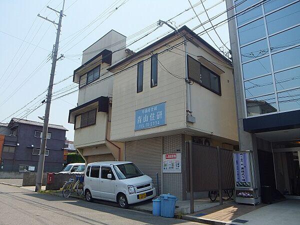 青山住研ハイツ[1階]の外観