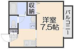 セジュール相田C棟[1階]の間取り