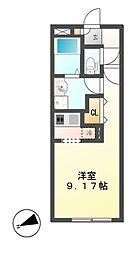 Branche千代田 (ブランシェ)[5階]の間取り