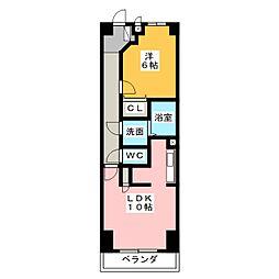 エテルノ[4階]の間取り