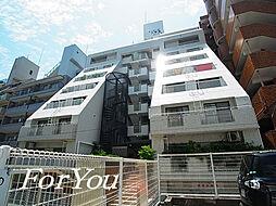兵庫県神戸市灘区深田町3丁目の賃貸マンションの外観