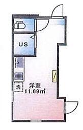 (仮称)ルームズ西早稲田A棟[105号室]の間取り