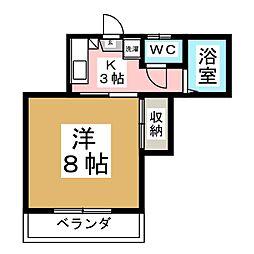 KMD四番館[2階]の間取り