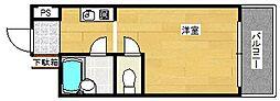 ミフネセントラルベア花園[10階]の間取り
