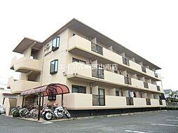 岡山県岡山市北区辰巳の賃貸マンションの外観