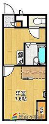 レオパレスF[2階]の間取り