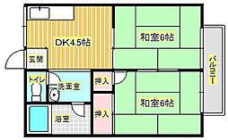 酒井マンション[2階]の間取り