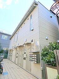 東京都大田区大森北5丁目の賃貸アパートの外観